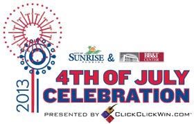 Concert and Fireworks Logo