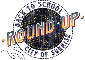 Back to School Round-Up Logo