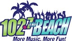 The Beach 102.7 FM logo