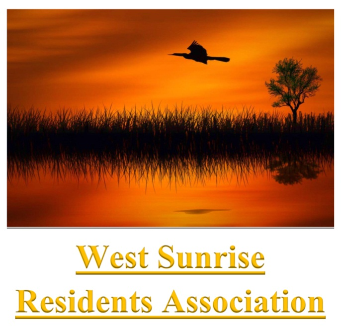 WSRA Westl Sunrise Residents Association