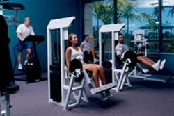 The Fitness Center features a variety of equipment