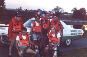 Old Underwater Recovery Team