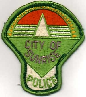 Old Mushroom Police Patch