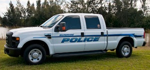 Police Ford F-350 Truck