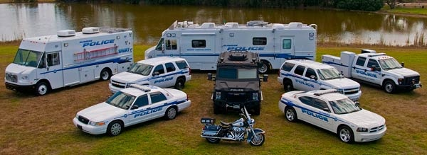 All Sunrise Police Vehicles