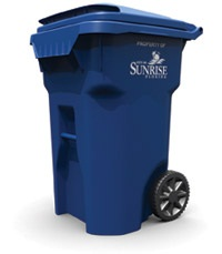 Sunrise Recycling Cart