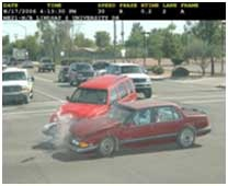 Example Crash from Red Light