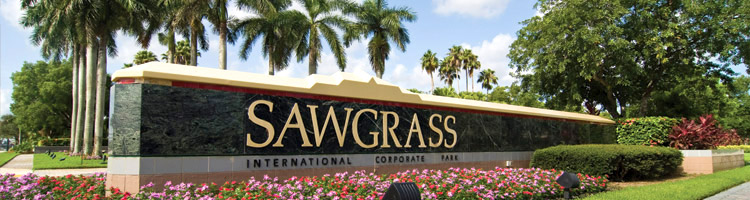 Sawgrass Corporate Park entrance