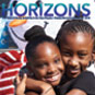 Cover of Horizons Magazine featuring residents