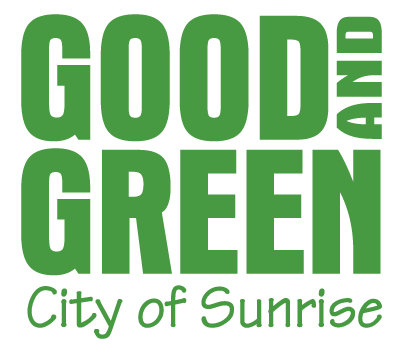 Good and Green - City of Sunrise Logo