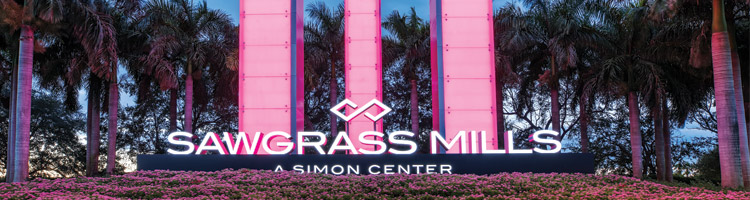 Sawgrass Mills Entrance