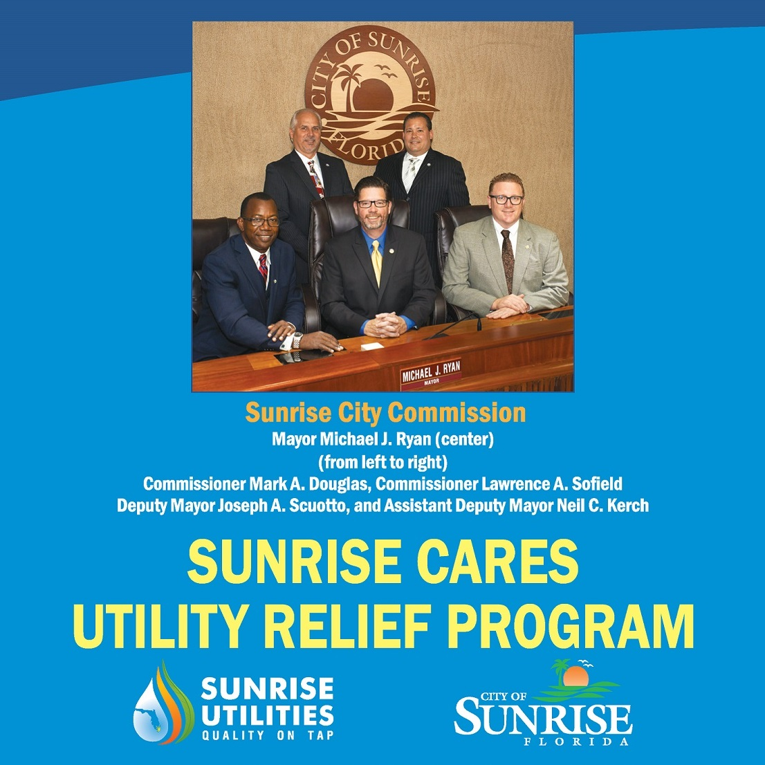 Sunrise Cares Utility Relief Program